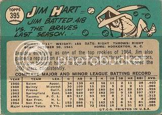 #395 Jim Hart (back)