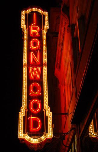 Ironwood Theatre Marquee