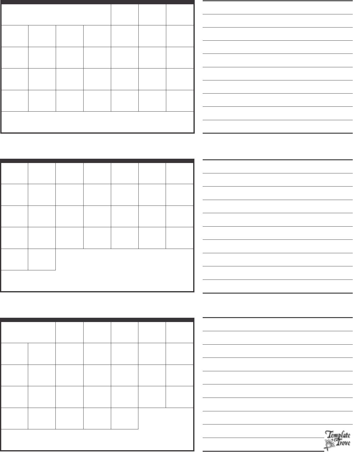 3 month calendar with notes bg1 Dliqwm