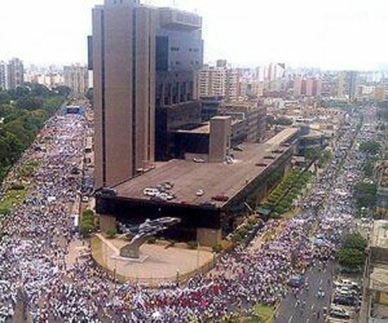 Manifestation against genre agenda in schools - Peru -2