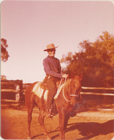 papa on a horse