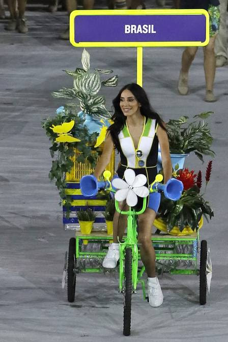 Image result for Lea T Rio olympics