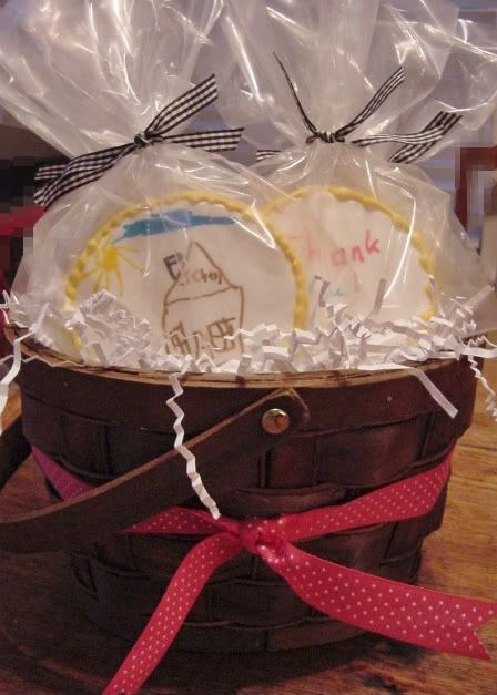 jack's teacher cookies basket