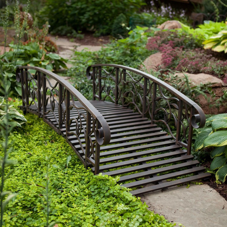 Metal Garden Bridge: Decorative and Functional Item for ...