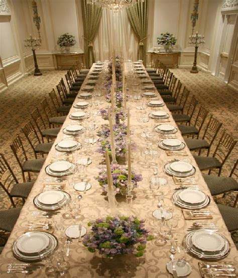 lily and bart?s wedding long dining table decor, Photo