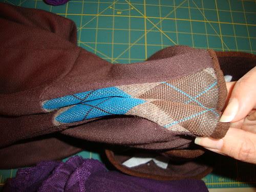 argyle concept dress imperfection