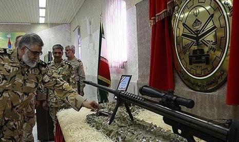 Iran Pamerkan Senapan 'Sniper'