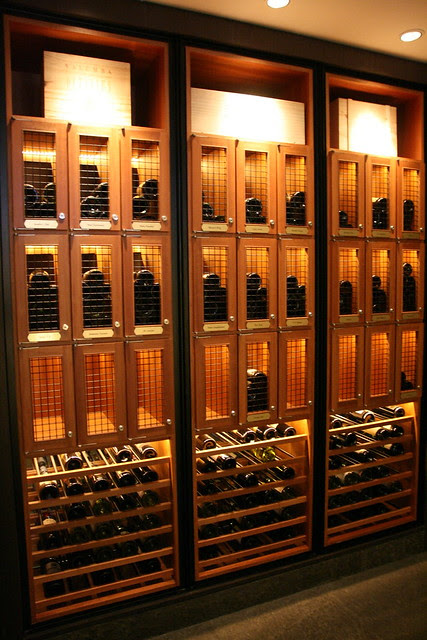 Wine lockers for your favourite vino