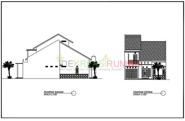 Gambar Kerja Rumah 2 Lantai Tipe 150  Ide Kreasi Rumah