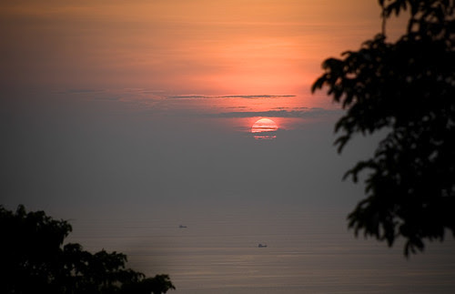 Sunset from Phuket viewpoint