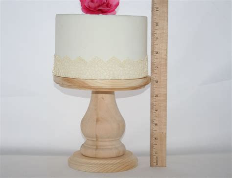 Unfinished Wooden Cake Stand DIY Cake Stand Wedding Cake