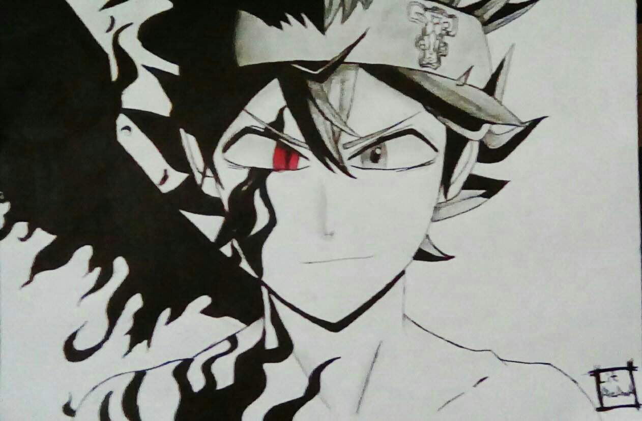 Demon Asta Black Clover Amino