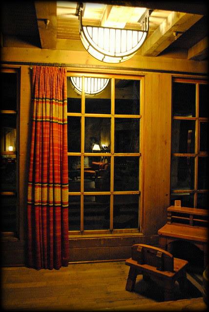 Inside Timberline Lodge