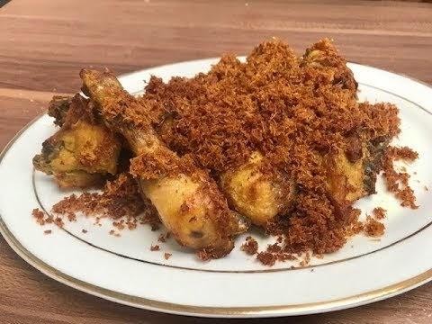 Resepi Ayam goreng Lengkuas Berempah