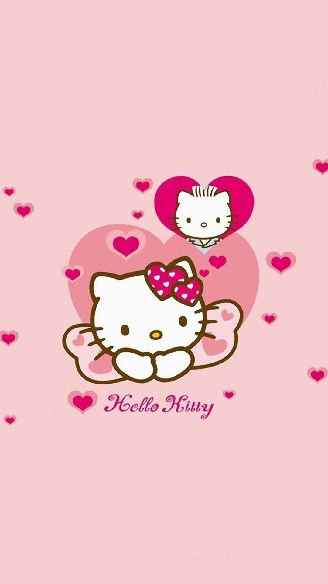8700 Koleksi Wallpaper Hp Hello Kitty Pink Gratis Terbaik