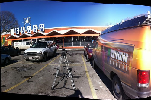Univision is at Hi Lo Foods