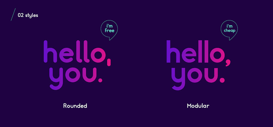 Somatic Typeface Free Demo