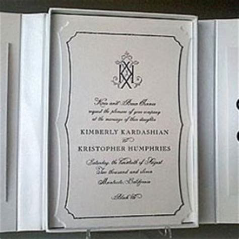 Celebrity wedding invites I could get inspired from