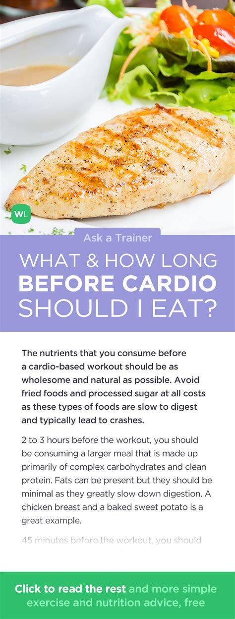 long   cardio workout   eat
