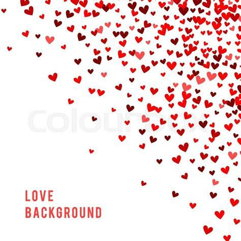 Romantic red heart background.     Stock Photo   Colourbox