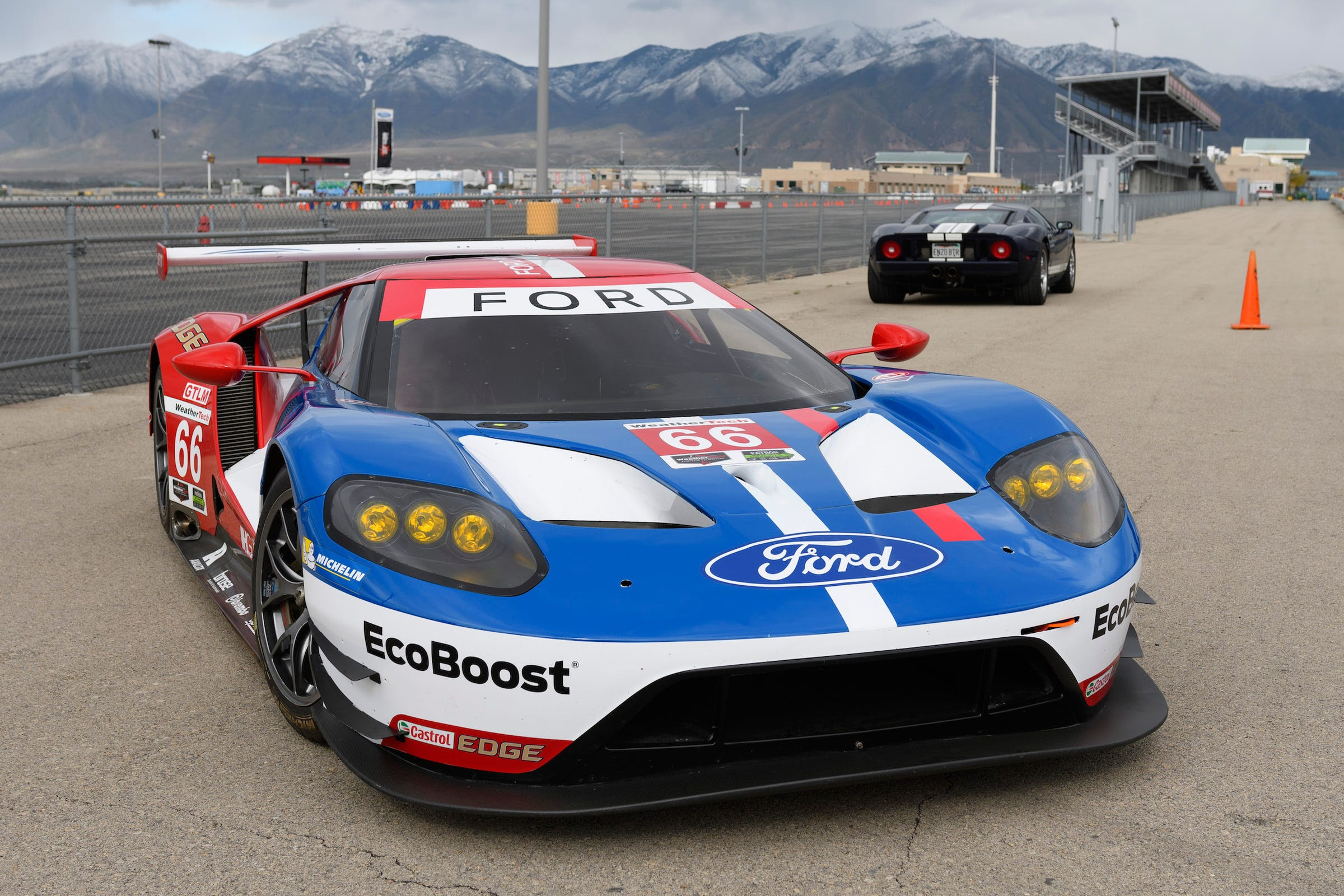 Ford GT Drive race car