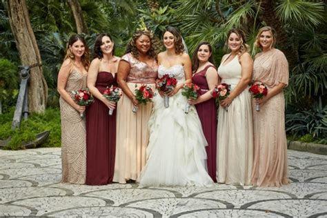Rose Gold and Burgundy Italian Wedding at Villa Silvana