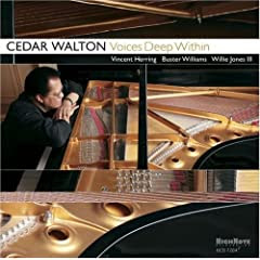Cedar Walton Voices Deep Within cover