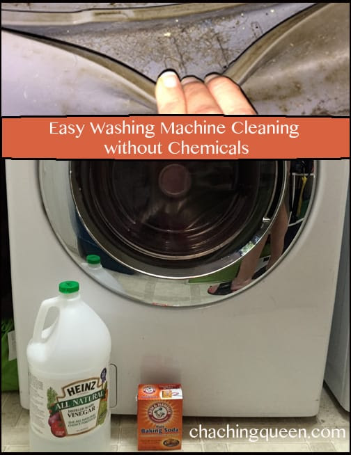 How to Clean Washing Machines with Baking Soda & Vinegar ...