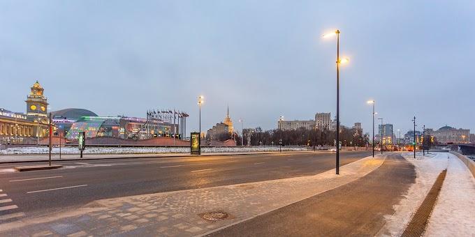 Завершилось благоустройство улиц в районе Киевского вокзала