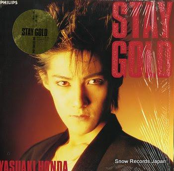 HONDA, YASUAKI stay gold