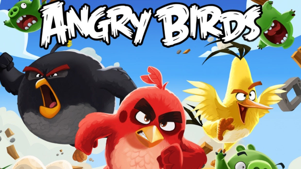 A promo shot for Angry Birds