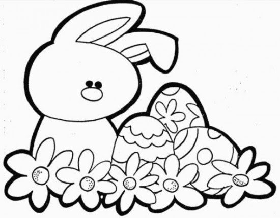97 Easter Animals Coloring Pages Pictures