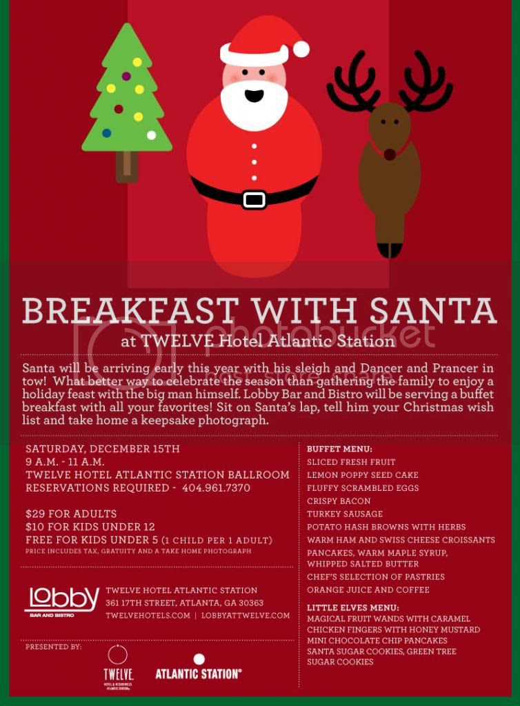 Breakfast With Santa Events in Atlanta