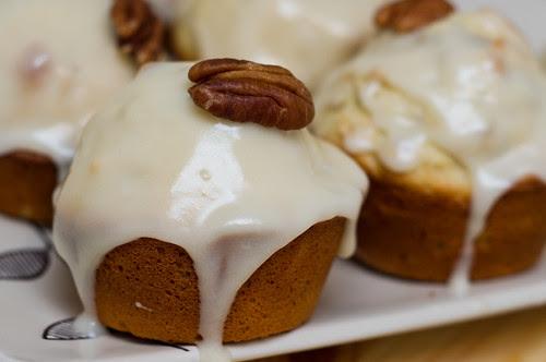 Cupcake aux pacanes