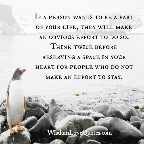 Think Twice Before Reserving A Space In Your Heart For Someone