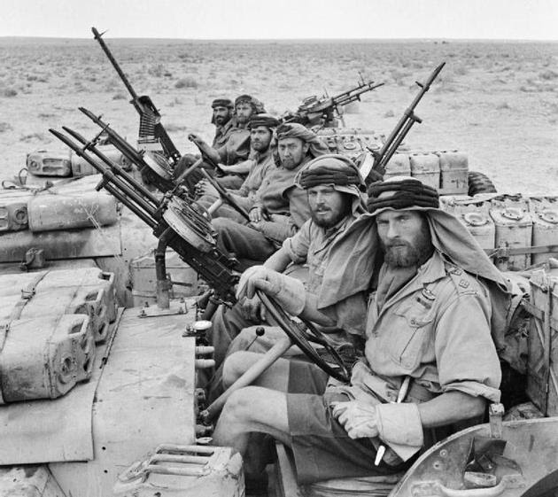 SAS team in North Africa, 1943