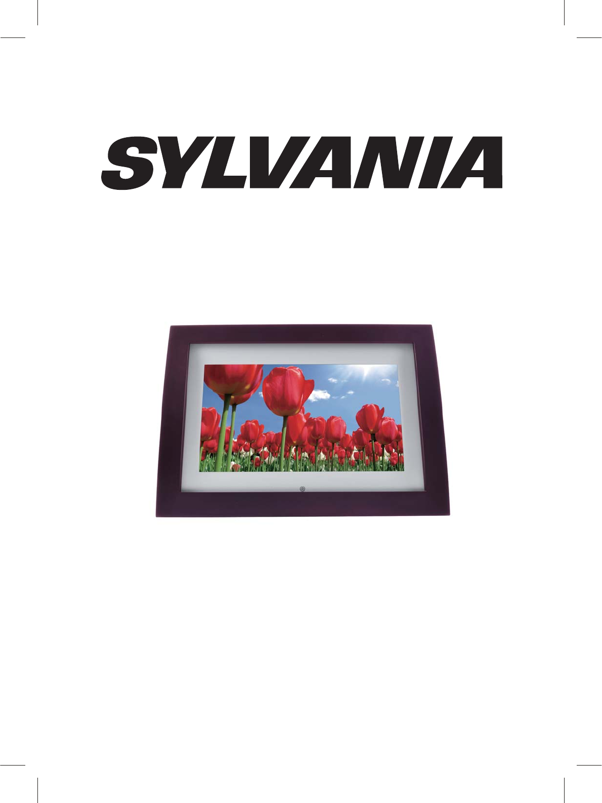 Sylvania Digital Photo Frame Sdpf1008 User Guide Manualsonline