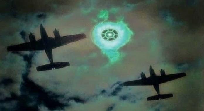 Μυστηριώδη Αντικείμενα και Φώτα στον Α' Π. Πόλεμο