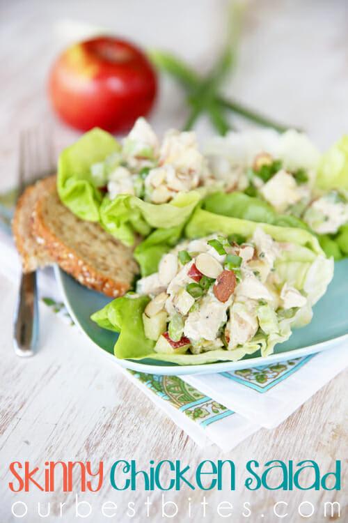 Skinny Chicken Salad from Our Best Bites