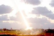 An Iron Dome defensive system firing near Ashdod.