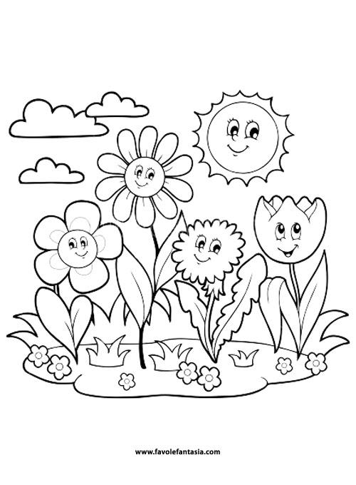 Animali Di Primavera Da Colorare Free Downloads