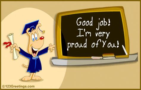 Good Job! Free Graduation Party eCards, Greeting Cards