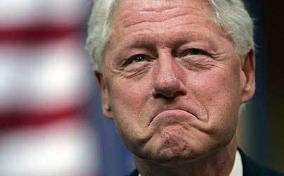 Image result for bill clinton lip biter
