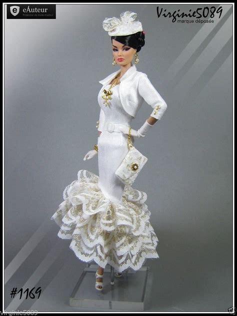 tenue outfit accessoires pour barbie silkstone vintage