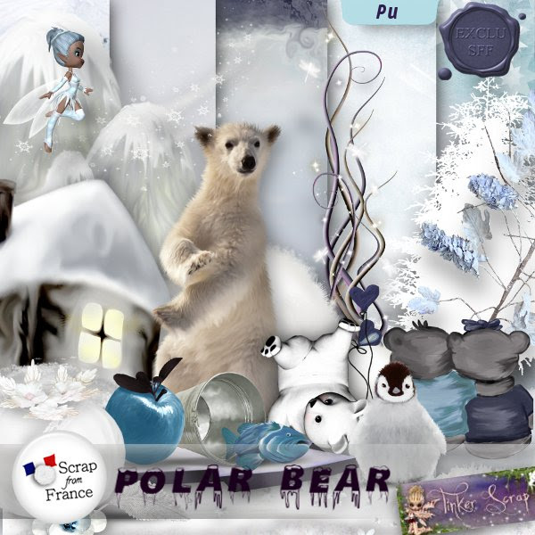 Polar bear par TinkerScrap