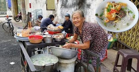 Bà Ngoại 60 năm bán cháo, bánh tầm giá 10k/tô đến bệnh không đủ tiền điều trị