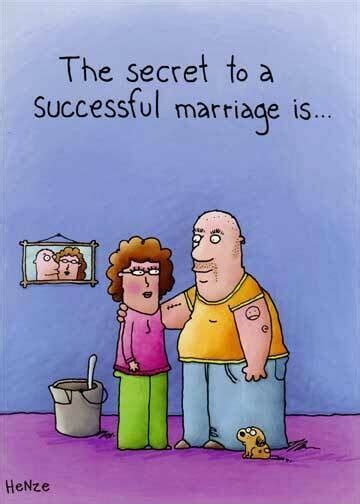 Successful Marriage Funny Anniversary Card   Greeting Card