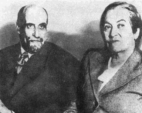Con Juan Ramón Jiménez.