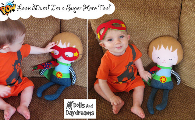 Super hero boys mask