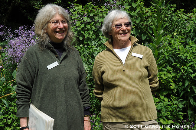 Docents at Dunn Gardens
